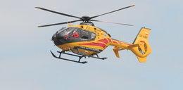 Zabrakło karetek. Po chorych... latają helikoptery. Tak do szpitala dostać się najszybciej