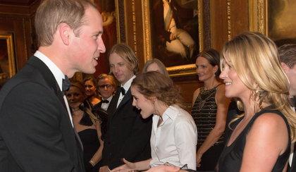 Kate Moss podrywa księcia Williama