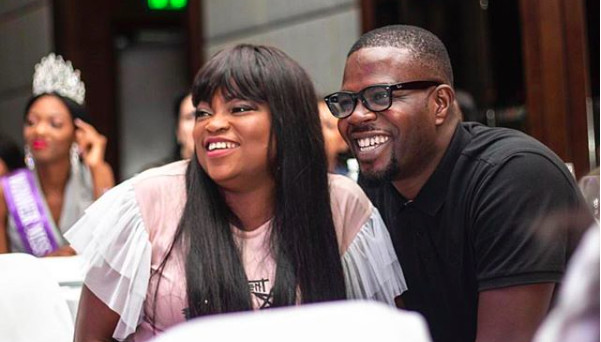 Watch Funke Akindele and JJC Skillz dance as he celebrates birthday [Zumi]