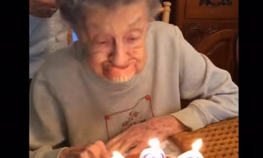 Babcia i 102 urodziny.