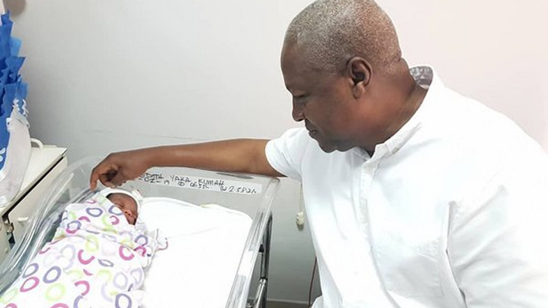 John Mahama becomes 'grandfather'