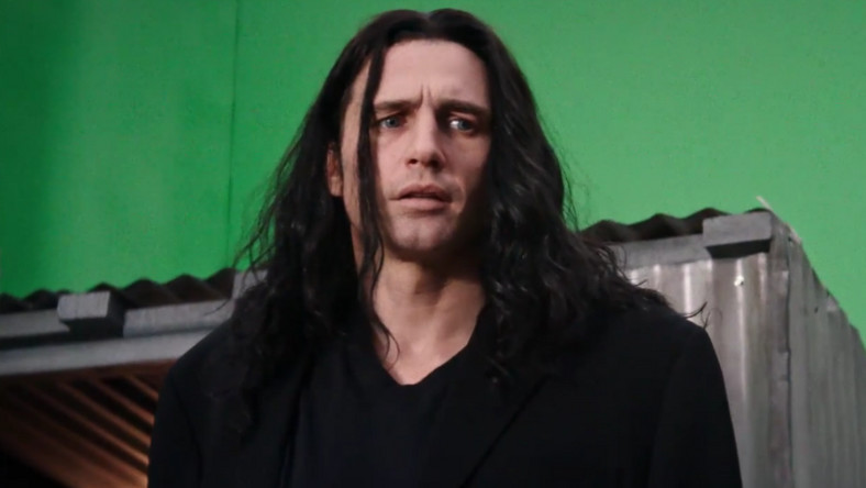 "James Franco jako Tommy Wiseau w filmie ""Disaster Artist"""