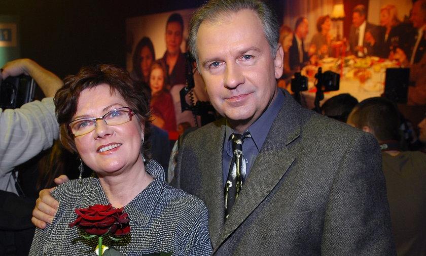Tomasz Stockinger i Agnieszka Kotulanka Pociesza go żona z serialu. Będą parą?