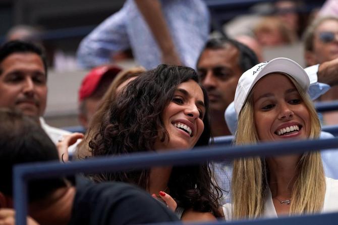Izabel sa Ćiskom 2018. na US Openu u Njujorku
