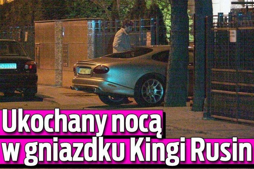 Ukochany nocą w gniazdku Kingi Rusin. FOTO