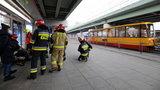 Zderzenie tramwajów w Warszawie. Są problemy z wolnymi karetkami dla poszkodowanych