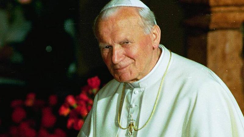 Jan Paweł II, fot. Krzysztof Miller/Agencja Gazeta