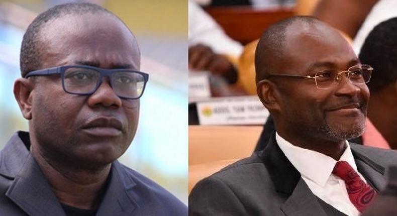 Kwesi Nyantakyi and Kennedy Agyapong