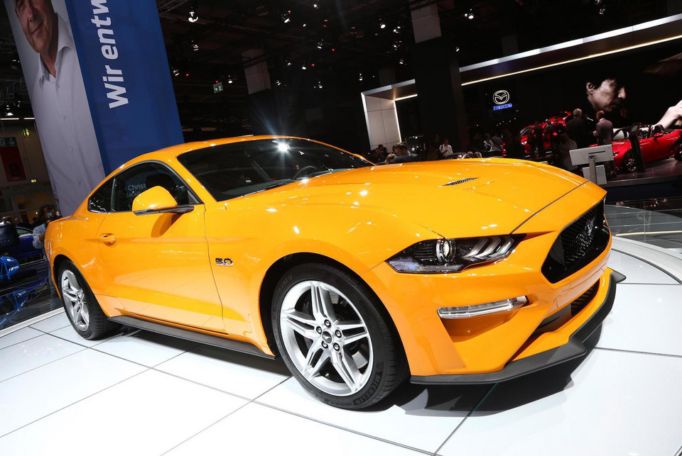 Ford Mustang po faceliftingu