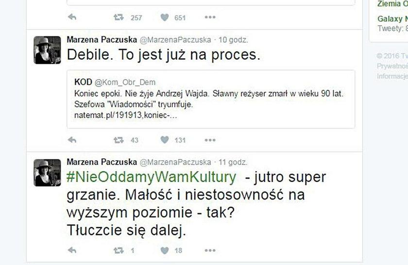 Skandaliczny wpis szefowej Wiadomości TVP
