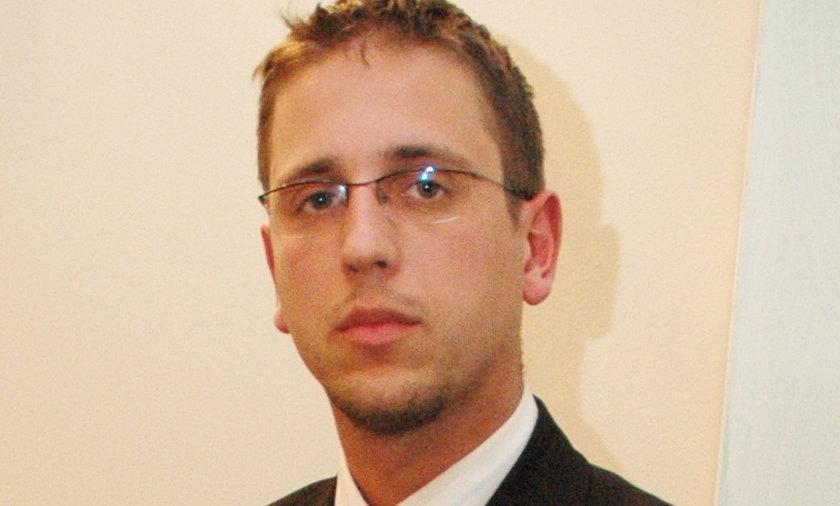 Adwokat Mariusz Paplarczyk.