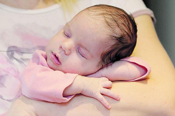 Mala Sunčica rođena je kao prva beba iz Užica 2018.godine