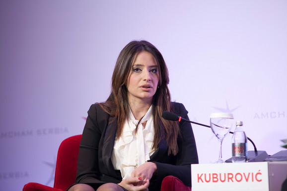 Nela Kuburović, ministarka pravde