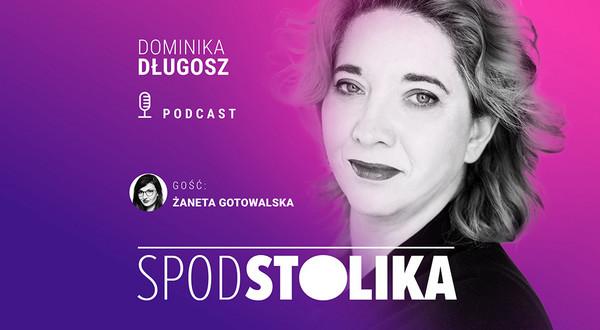 Dominika Długosz i Żaneta Gotowalska w podcaście Spod Stolika