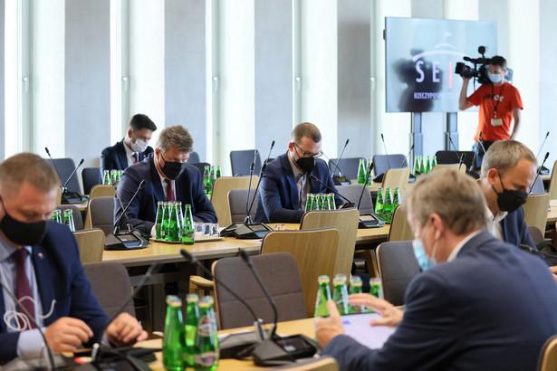 Posiedzenie sejmowej Komisji Administracji i Spraw Wewnętrznych