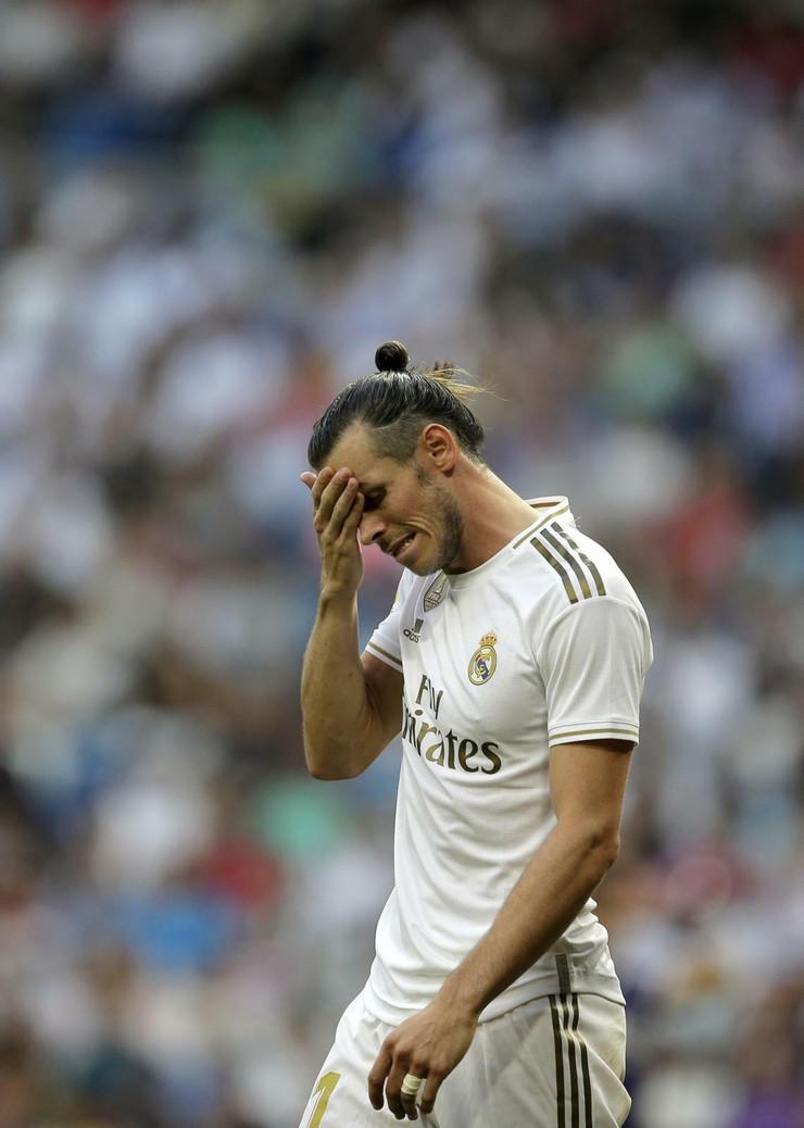 Detalj sa meča Real Madrid - Real Valjadolid