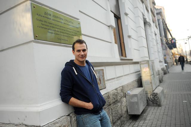 Mladi umetnik je zamenio Davos za Beograd