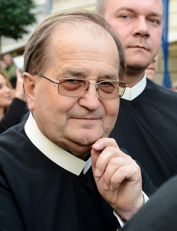 "Influential and controversial priest Tadeusz Rydzyk (pictured September 2012) denounced what he called a ""smear campaign"" inspired by ""hatred"" of the Church"