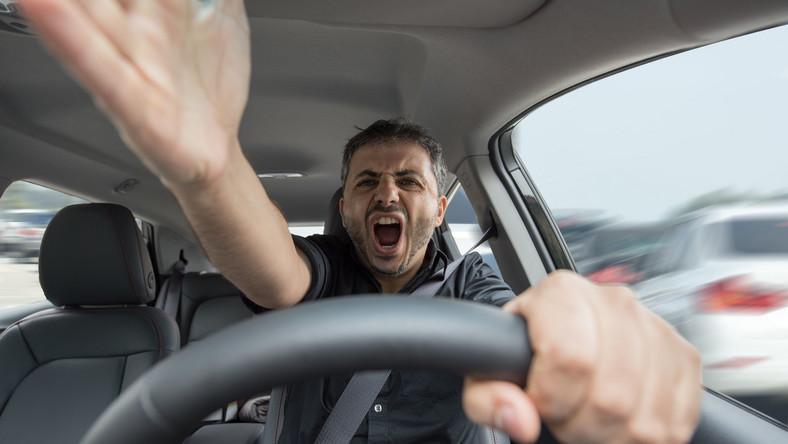 Wściekły kierowca