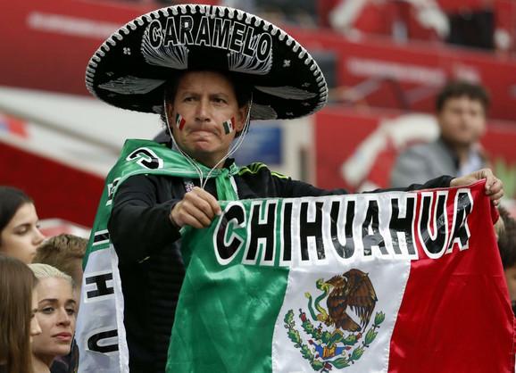 Jedan od meksičkih navijača na Kupu konfederacija u Rusiji