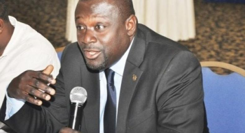 Chairman of Parliament's Finance Committee,Dr.Assibey Yeboah