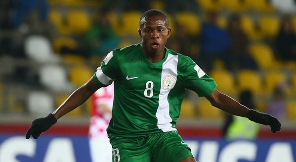 Samuel Chukwueze scored three goals at the 2015 FIFA U17 World Cup in Brazil