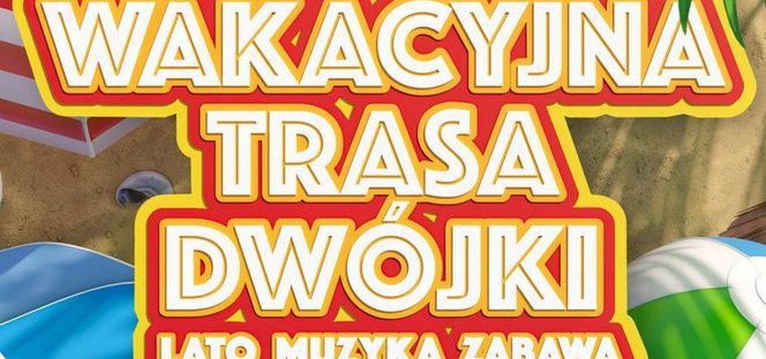 """Wakacyjna Trasa Dwójki """"Lato, muzyka, zabawa"""" w Augustowie [RELACJA]"""