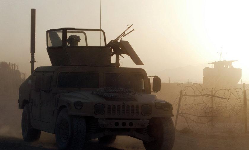 Patrol polskich żołnierzy w Afganistanie