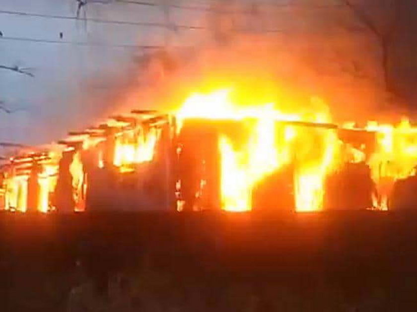 Wbiegła do płonącego hospicjum, by ratować właścicielkę, a ona ją porzuciła!