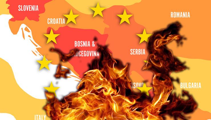 Balkan, Kombo, Zapadni balkan, EU