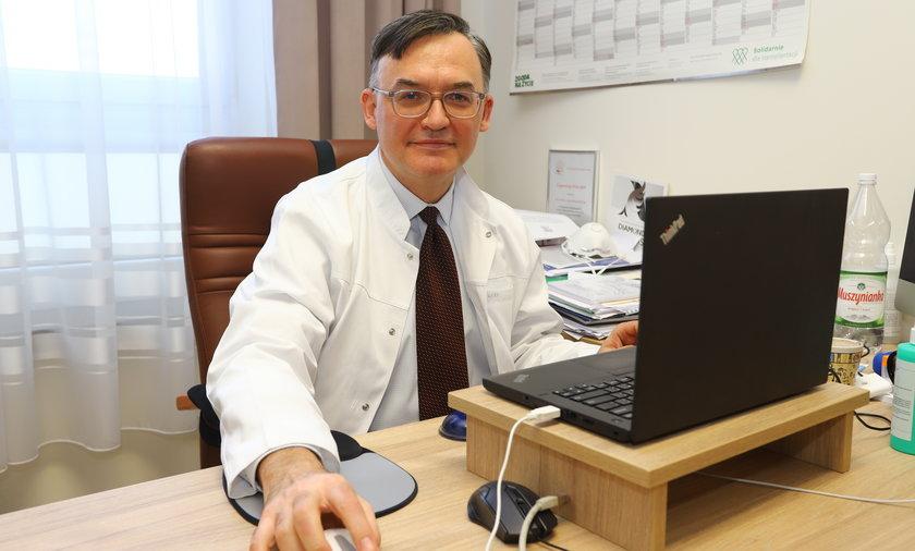 prof. Konrad Rejdak, kierownik katedry i kliniki neurologii Uniwersytetu Medycznego w Lublinie