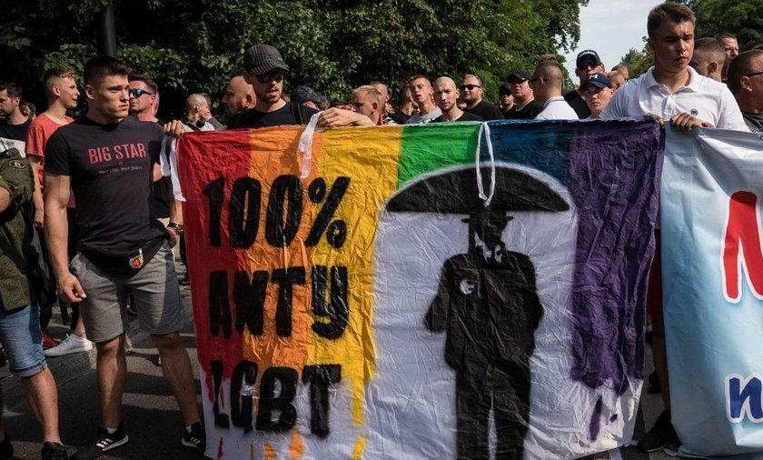 Zamieszki podczas Parady Równości