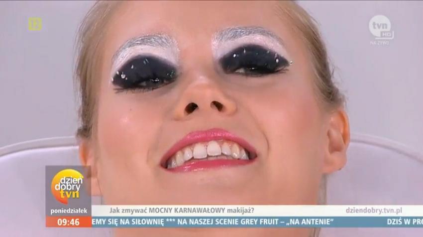Makijaż Sylwestrowy Z Tvp Wyśmiany Przez Dzień Dobry Tvn