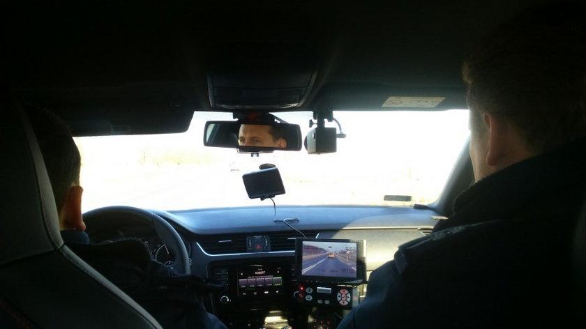 Łapali kierowców