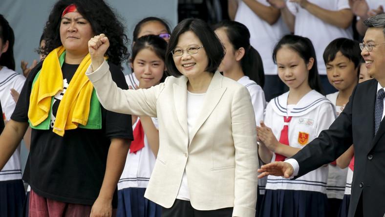 Prezydent Tajwanu, Caj Ing-wen