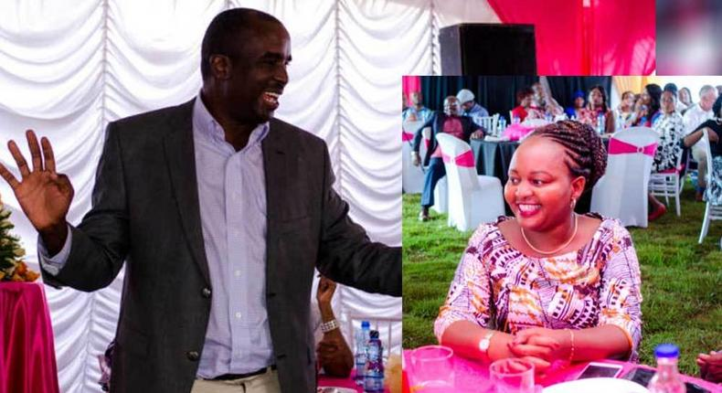 Waiguru's husband advises Kenyan man against jealousy with a personal experience