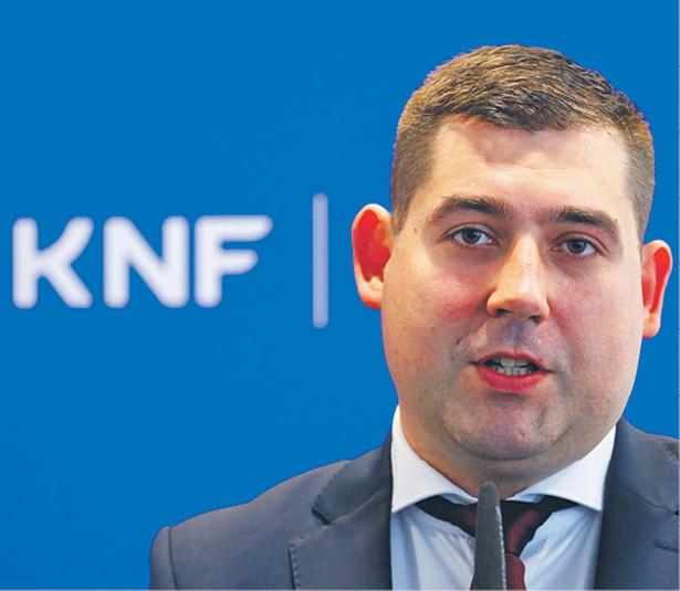 Artur Granicki, dyrektor nowego departamentu innowacji finansowych fintech UKNF