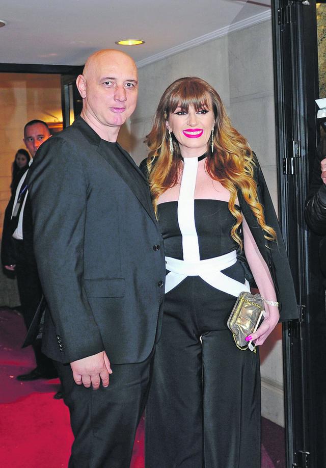 Viki Miljković sa mužem