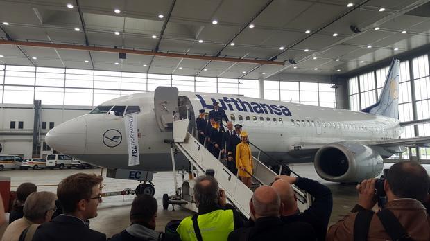 Pożegnanie 737 - Lufthansa