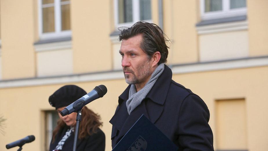 Prezydent Kalisza Krystian Kinastowski