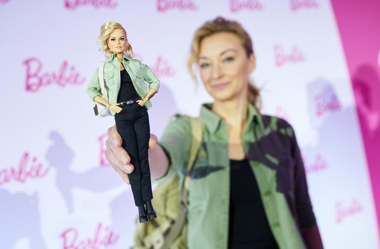 Martyna Wojciechowska z nagrodą Barbie Shero
