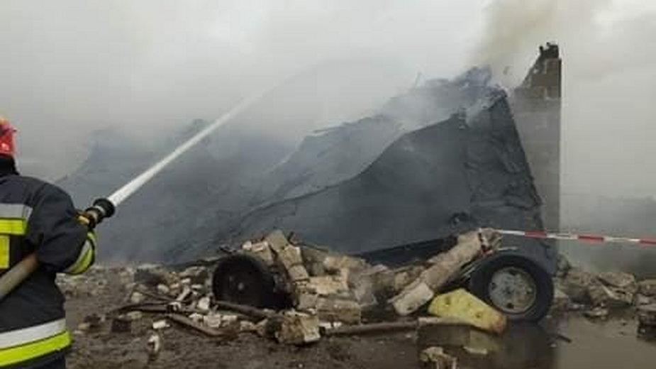 Tragiczny pożar w Rososzy