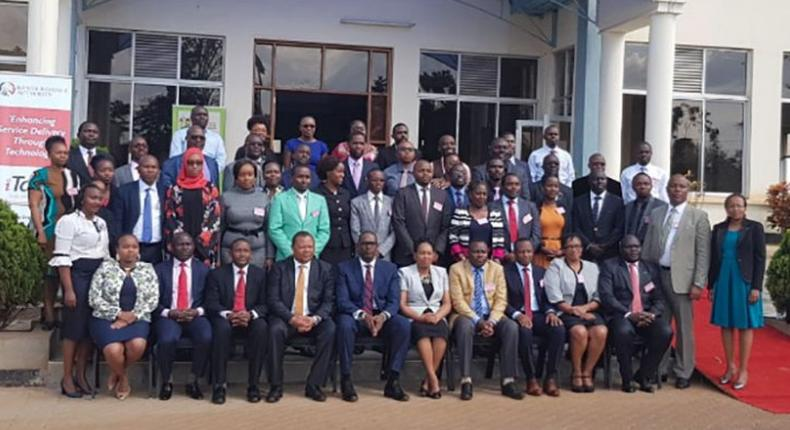 President Uhuru Kenyatta has unveiled the recently recruited statehouse' 45-member communication team, Presidential Delivery Unit (PDU) and are set to begin their official duties.