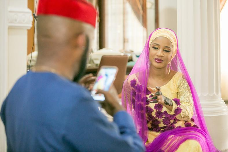 Banky W and Adesua [Within Nigeria]