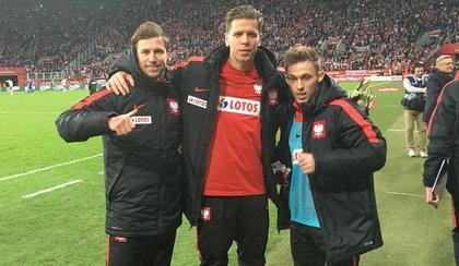 To zdjęcie podbija sieć. Polski piłkarz był pijany?