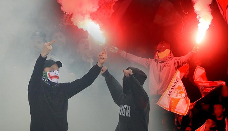 grobari delije kombo RAS Aleksandar Dimitrijevic, Dusan Milenkovic