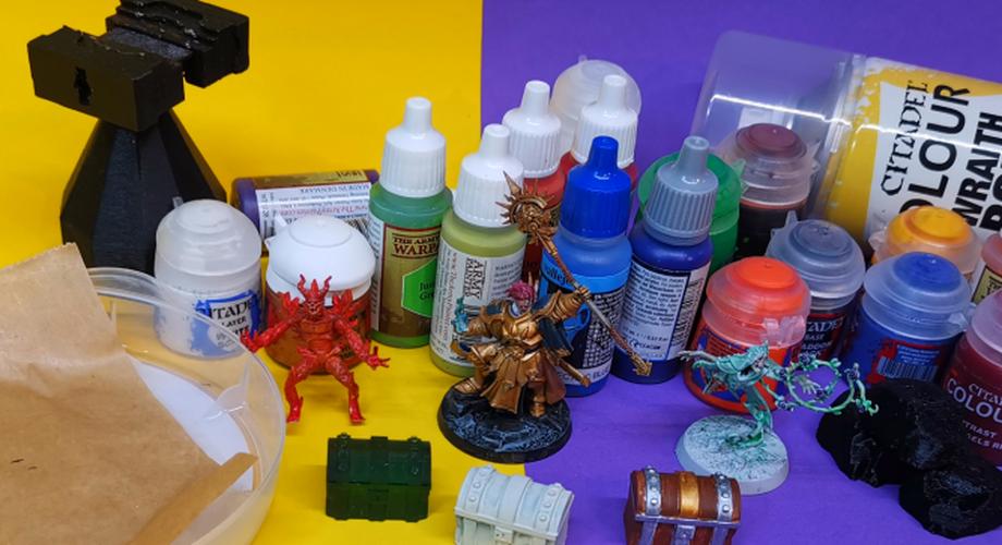 Ratgeber: Miniaturen und 3D-Drucke bemalen