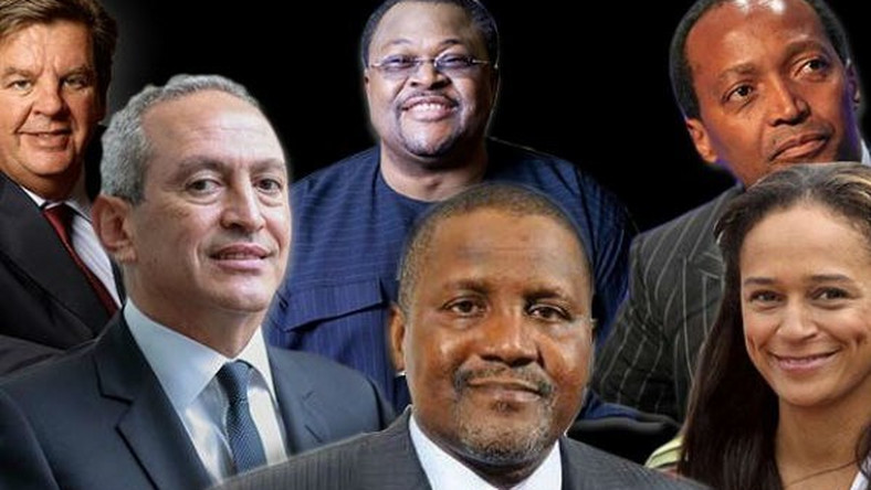 These are African billionaires that made their fortune from investments in technology companies.