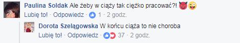 Dorota Szelągowska na Facebooku