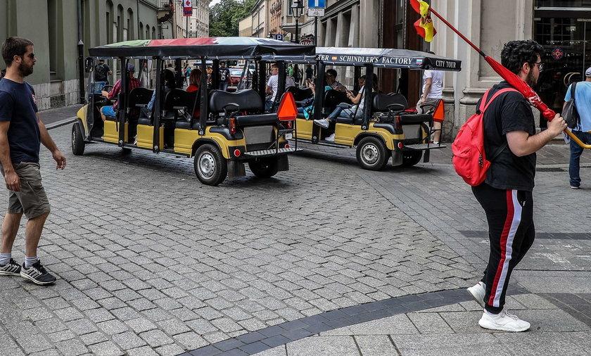 Meleksy na Rynku w Krakowie